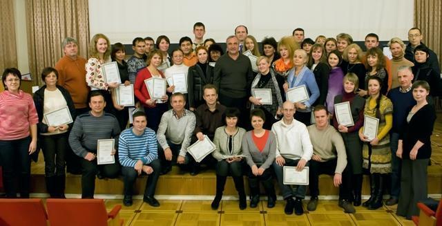 Вручение сертификатов НЛПт-психотерапевтов 2012 год